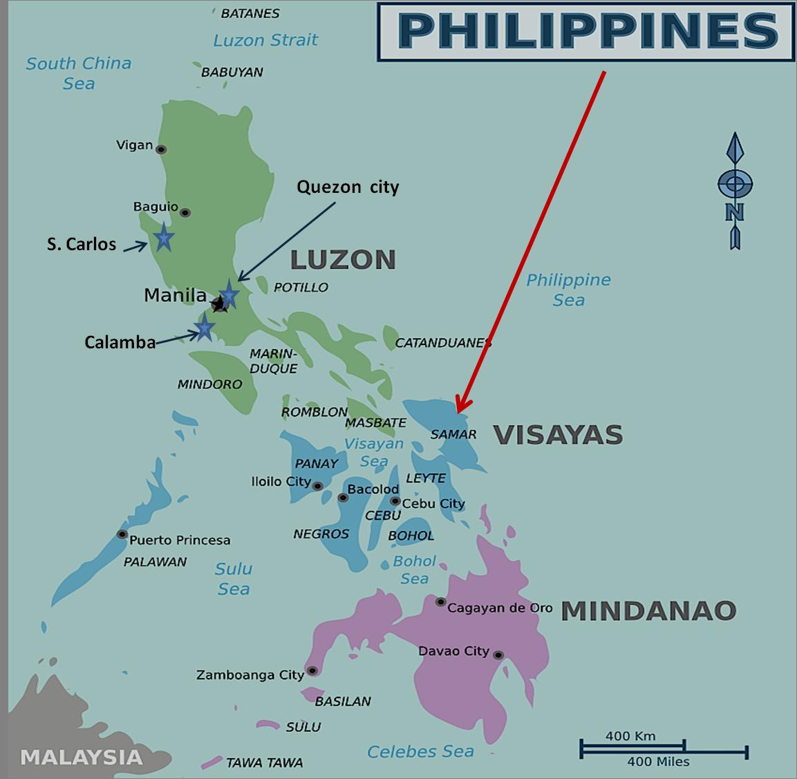 FILIPINAS: EMOTIVA EXPERIENCIA DE MISION
