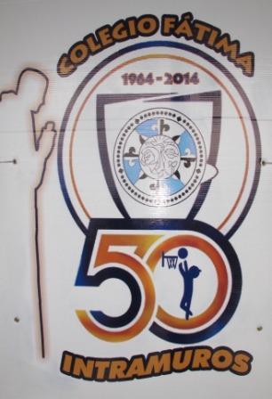 50 AÑOS INTRAMUROS COLEGIO FÁTIMA (STA. TECLA)