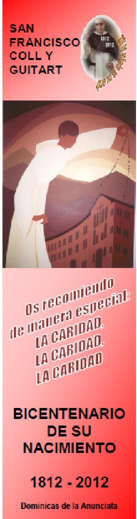 OS RECOMIENDO DE MANERA ESPECIAL: LA CARIDAD, LA CARIDAD, LA CARIDAD