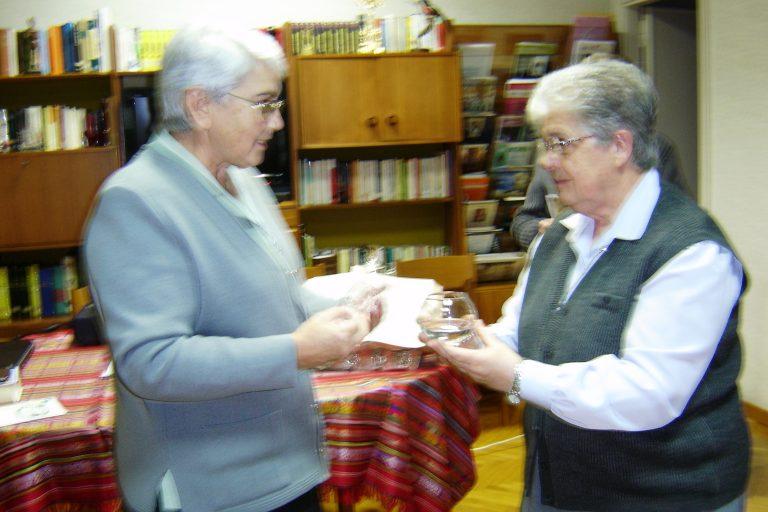 ENTREGA DE ACTAS EN LA CDAD. DE ROMA