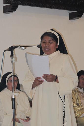 PROFESIÓN PERPETUA DE LA H. MAURA