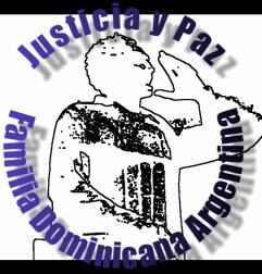 CARTA DEL ENCUENTRO NACIONAL DE JUSTICIAY PAZ  MORENO, BUENOS AIRES 2013