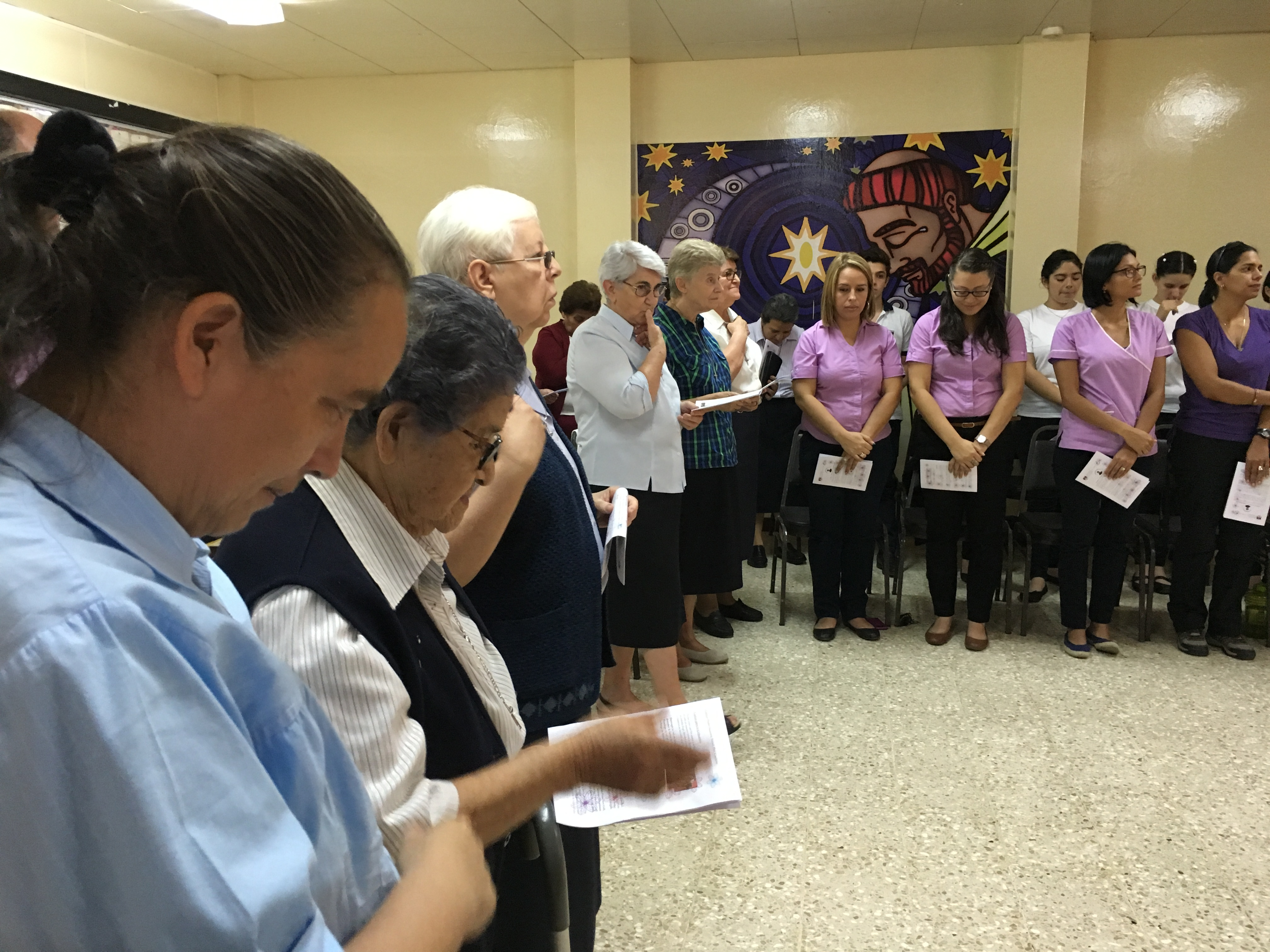 Celebración en el Colegio de Costa Rica