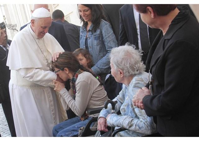 Mensaje del Papa Francisco en la Jornada Mundial del Enfermo 2017