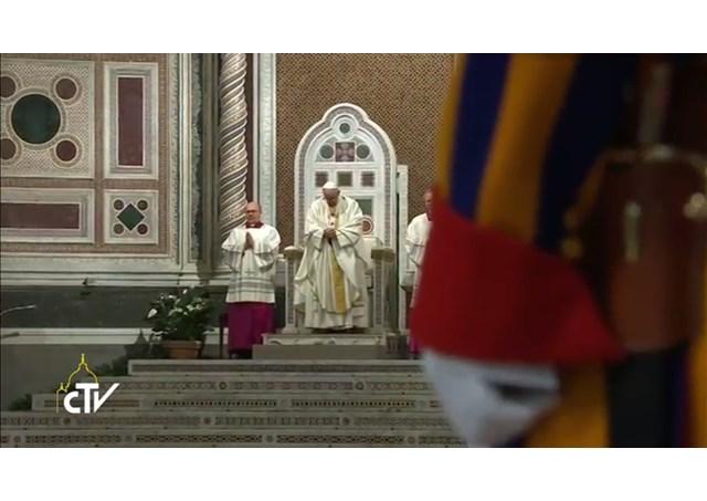 Homilía del Papa en la misa de Clausura del Jubileo de la Orden