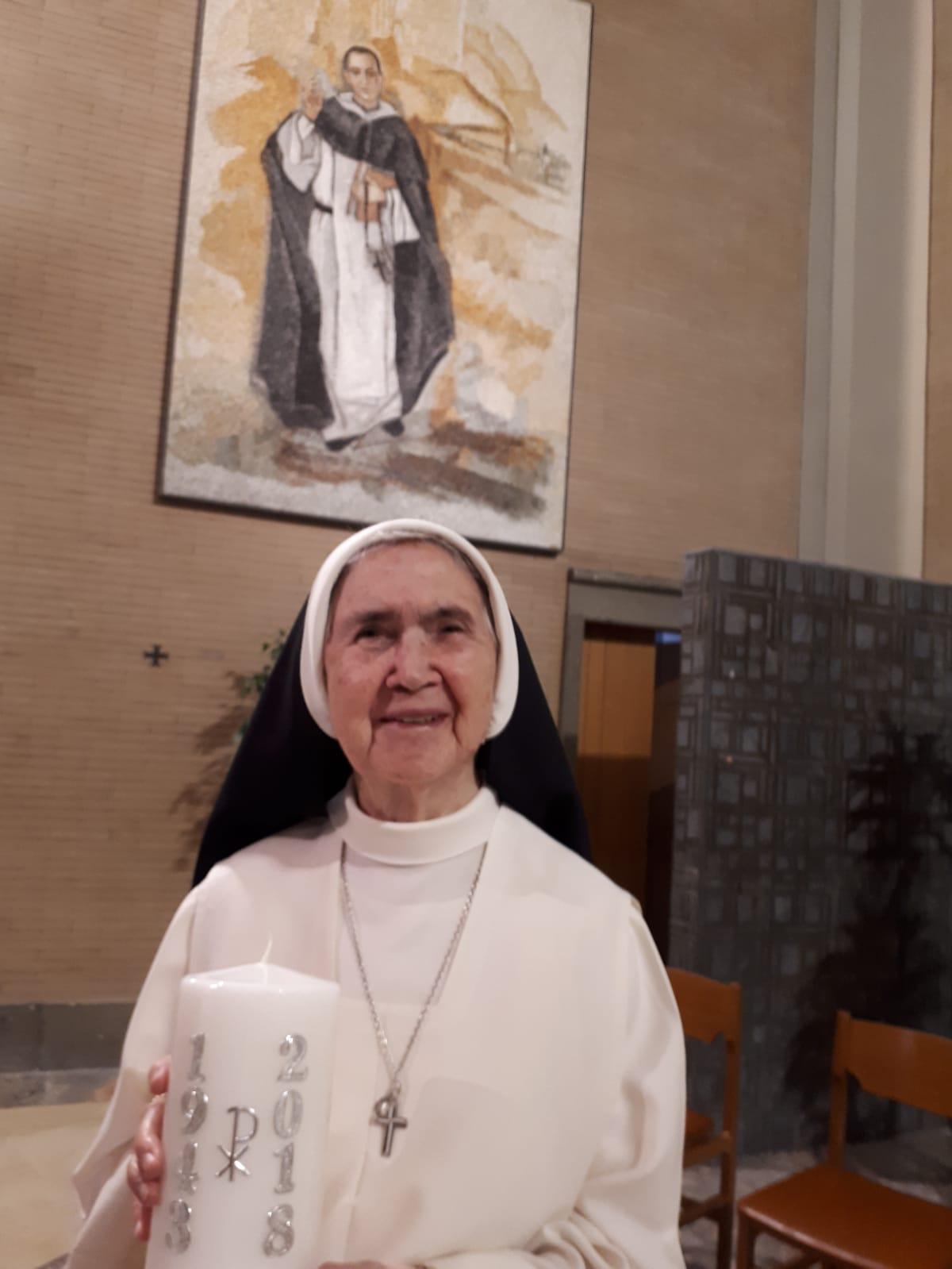 75 AÑOS DE PROFESIÓN RELIGIOSA
