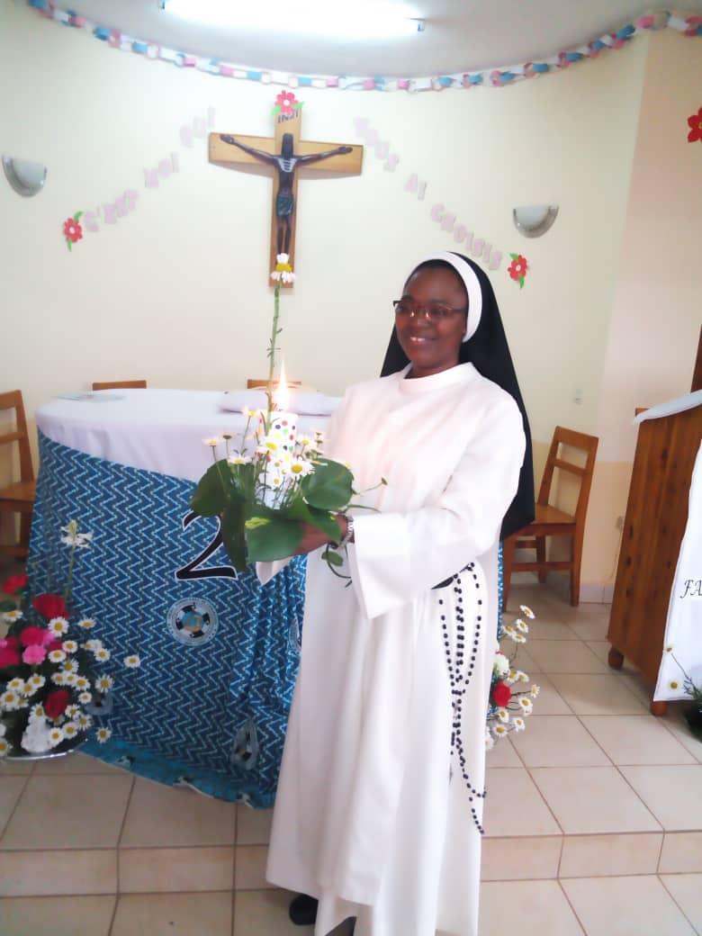 25 AÑOS DE PROFESIÓN RELIGIOSA -H. CÉCILE TONDÉ-