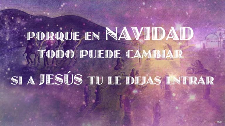 DEJALE ENTRAR VIDEO NACIMIENTO DE JESUS