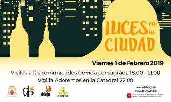 LUCES EN LA CIUDAD DE MADRID