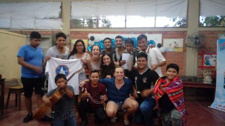 EXPERIENCIA DE JOVENES VOLUNTARIOS DE URUGUAY EN PUCALLPA – PERU