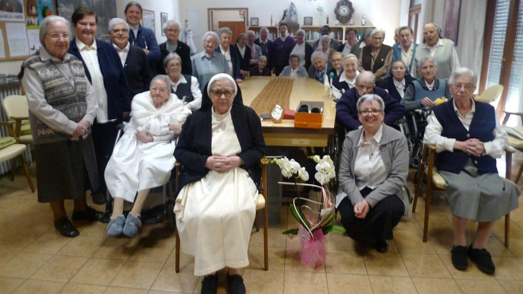 75 AÑOS DE VIDA RELIGIOSA DE LA H MARINA FERNANDEZ GARCIA