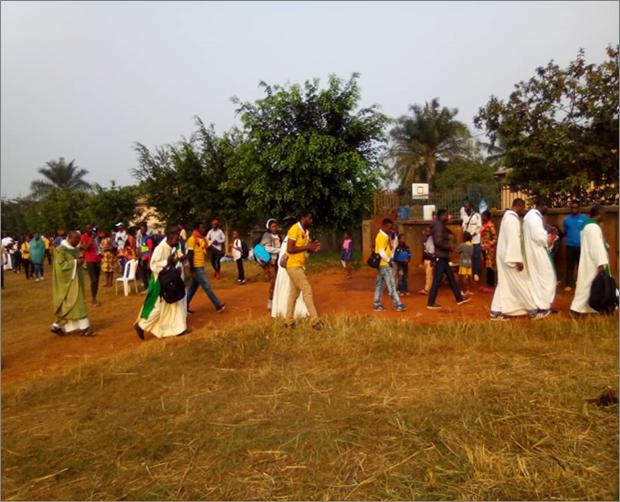 JORNADAS DIOCESANAS DE  JOVENES EN CAMERUN