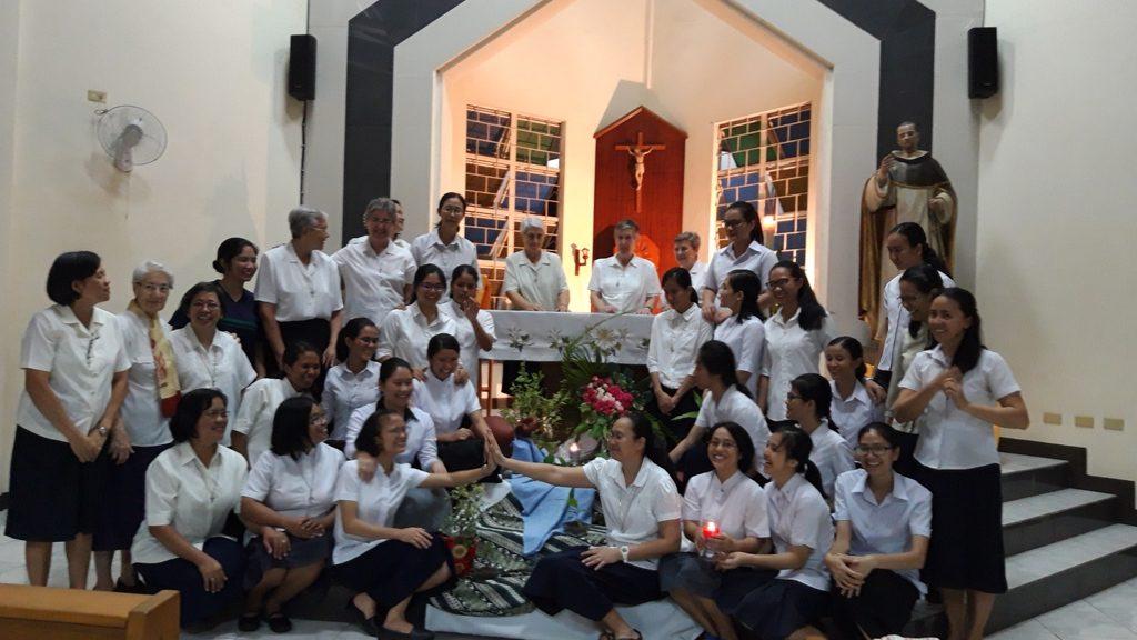 ENTRADA AL POSTULANTADO Y NOVICIADO EN FILIPINAS 2019