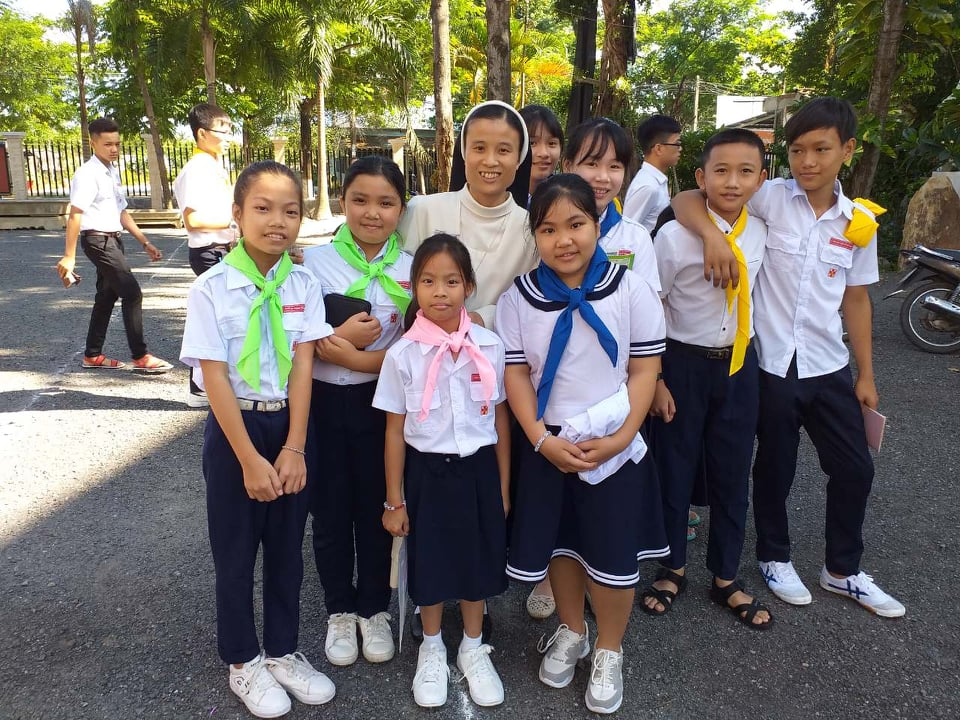 VISITA A LA FAMILIA Y CAMPAÑA VOCACIONAL EN VIETNAM