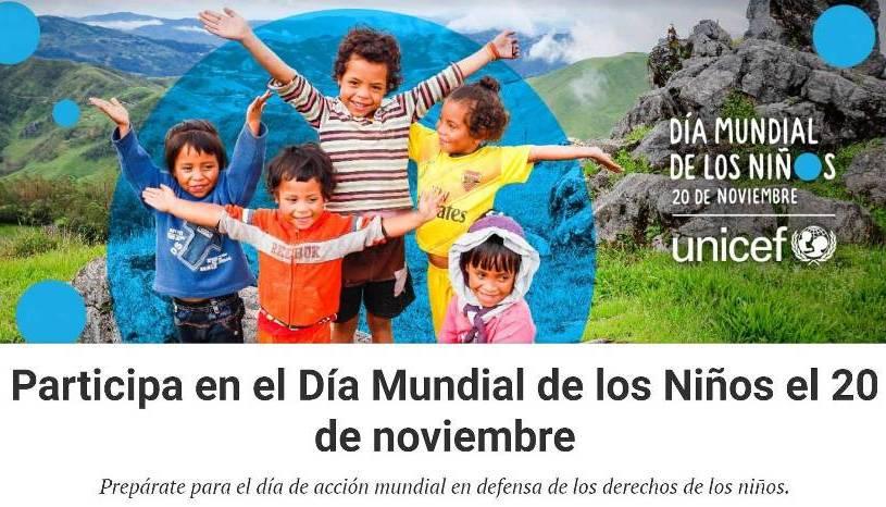 20 DE NOVIEMBRE DIA MUNDIAL DE LOS NIÑOS
