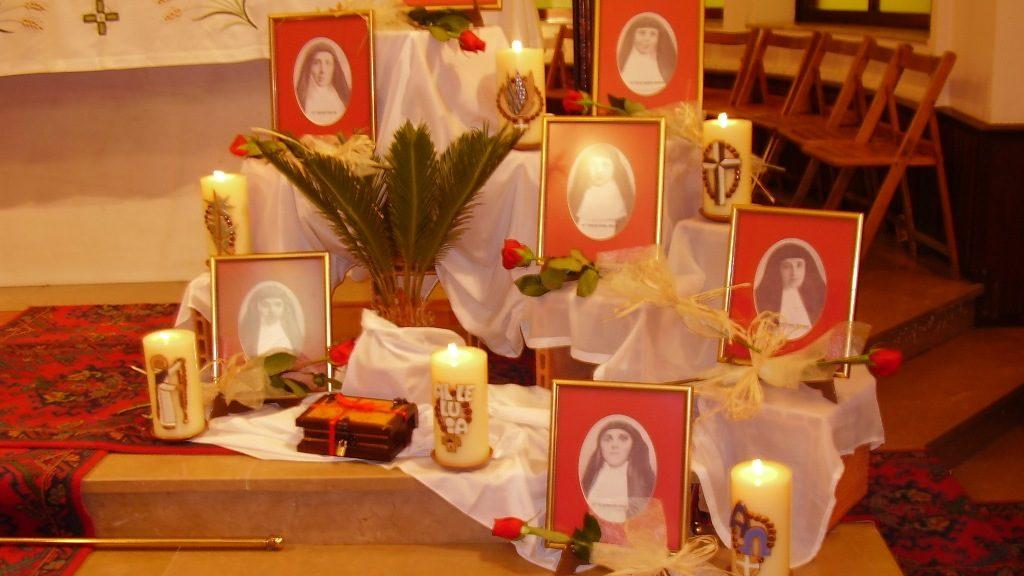6 DE NOVIEMBRE – FIESTA DE LAS BEATAS HERMANAS MARTIRES DE LA ANUNCIATA