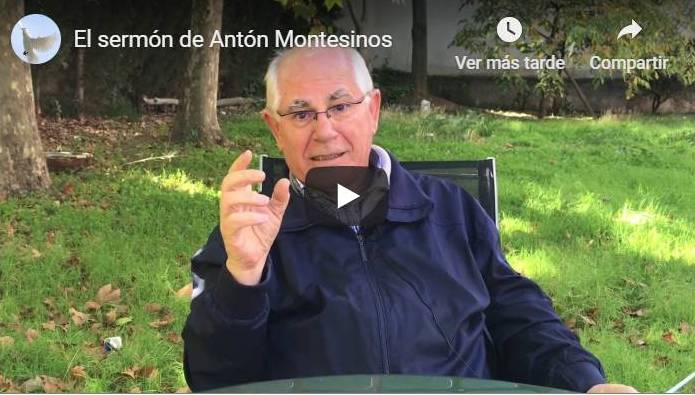 EL SERMON DE ANTON MONTESINOS VIDEO FELICISIMO MARTINEZ OP