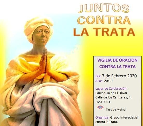 VIGILIA DE ORACION CONTRA LA TRATA 2020