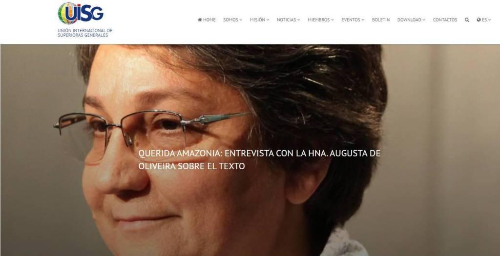ENTREVISTA HNA AUGUSTA SOBRE 'QUERIDA AMAZONIA'