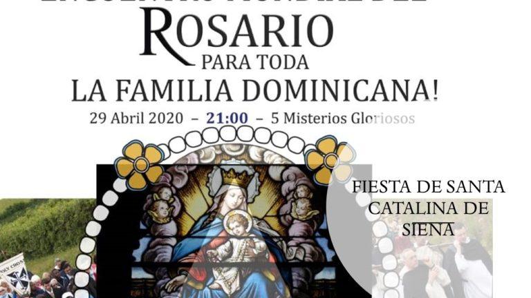 ENCUENTRO MUNDIAL DEL ROSARIO PARA TODA LA FAMILIA DOMINICANA