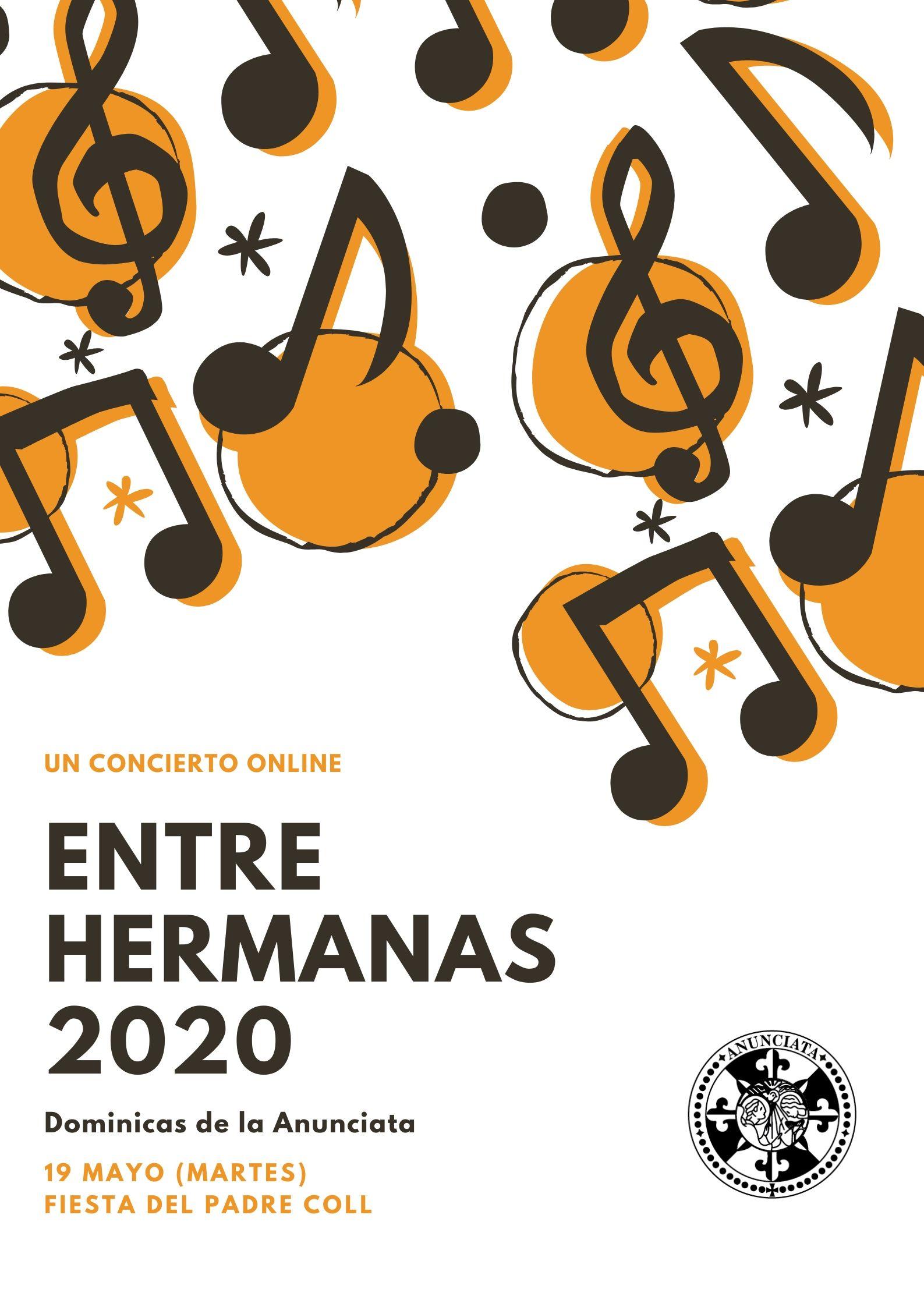 ENTRE HERMANAS 2020 – CONCIERTO ON LINE