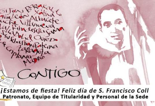 Celebración de la Eucaristía en honor de San Francisco Coll