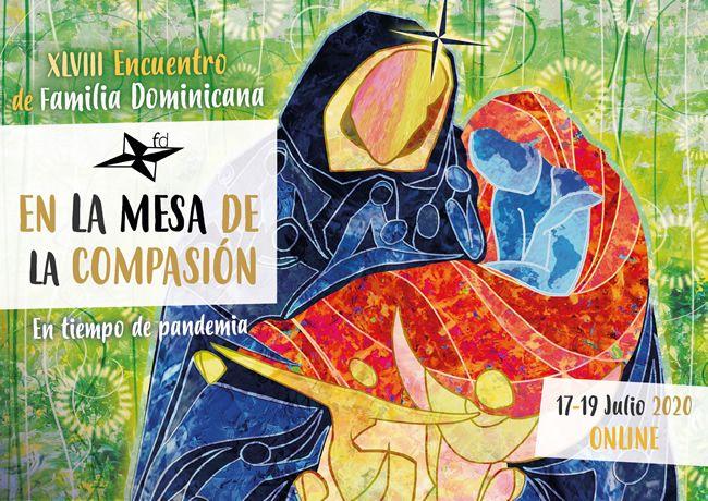 ENCUENTRO ON LINE DE LA FAMILIA DOMINICANA «LA MESA DE LA COMPASIÓN»