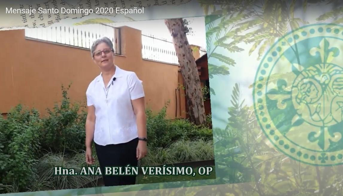 MENSAJE DE LA PRIORA GENERAL EN LA SOLEMNIDAD DE SANTO DOMINGO