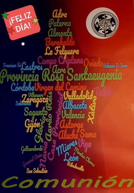 PRIMER ANIVERSARIO DE LA PROVINCIA ROSA SANTAEUGENIA