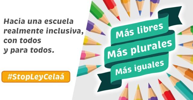 NACE LA PLATAFORMA MÁS PLURALES, EN DEFENSA DE LA LIBERTAD EDUCATIVA