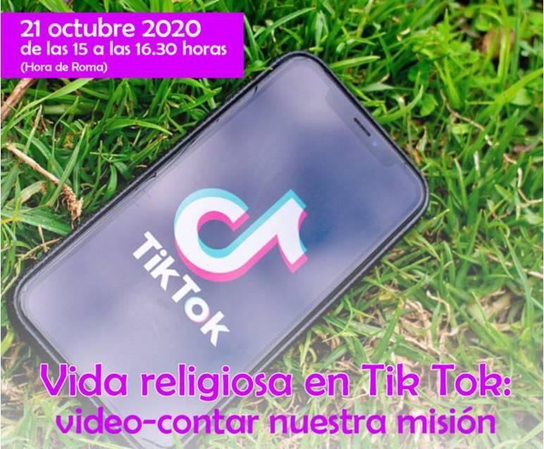 VIDA RELIGIOSA EN TIK TOK: VIDEO-CONTAR NUESTRA MISIÓN