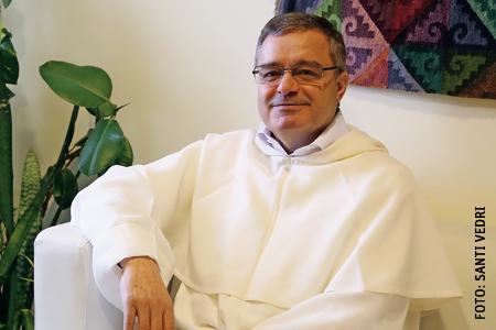 Carta de Navidad del prior provincial de la Provincia de Hispania Fr. Jesús Díaz Sariego