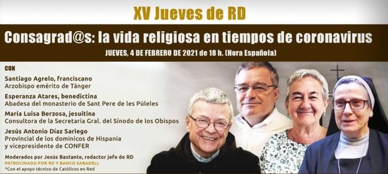 CONSAGRADOS: LA VIDA RELIGIOSA EN TIEMPOS DE CORONAVIRUS