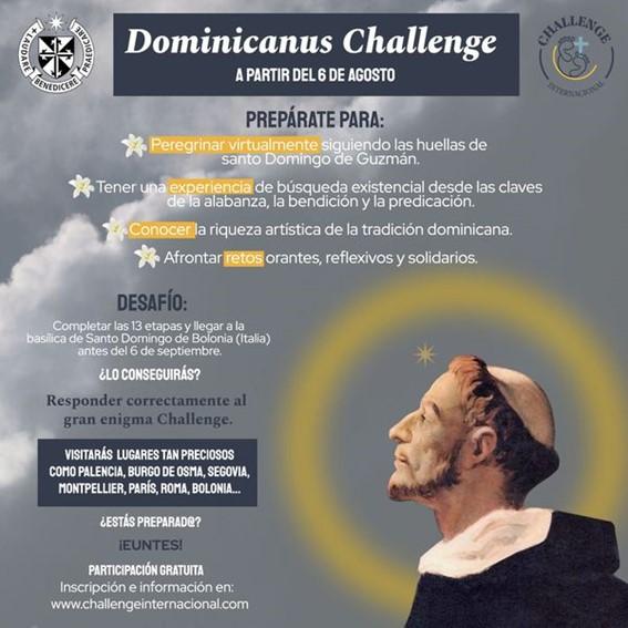 Peregrinación virtual por los caminos de Santo Domingo de Guzmán