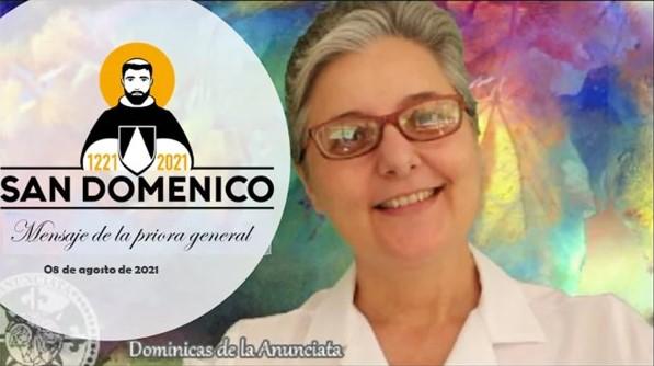 MENSAJE DE LA PRIORA GENERAL – FIESTA DE SANTO DOMINGO 2021