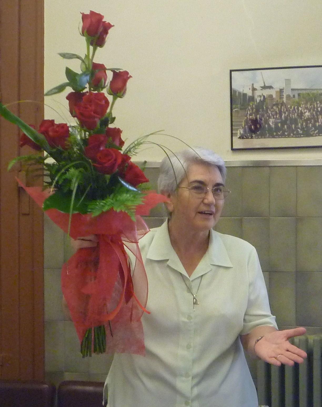 LA H. MARÍA NATIVIDAD MARTÍNEZ DE CASTRO, PRIORA GENERAL DE LA CONGREGACIÓN