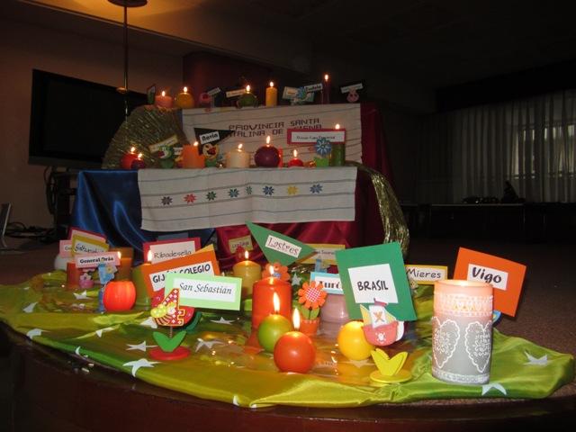 ENCUENTRO DE NAVIDAD  2012. PCI. STA. CATALINA DE SIENA