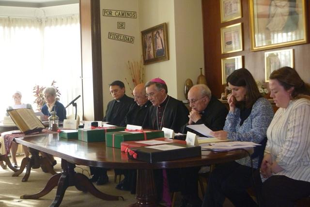 CIERRE DIOCESANO DE LA CAUSA DE CANONIZACIÓN DE LA H. DOMINGA BENITO