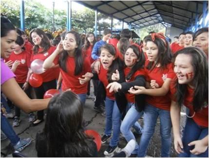 COSTA RICA. CELEBRACIÓN EN HONOR DE LA VIRGEN DEL ROSARIO