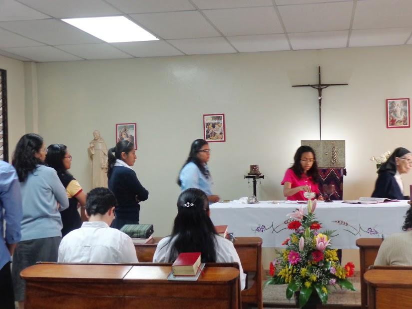 Celebración día de Nuestra Señora de la Anunciación