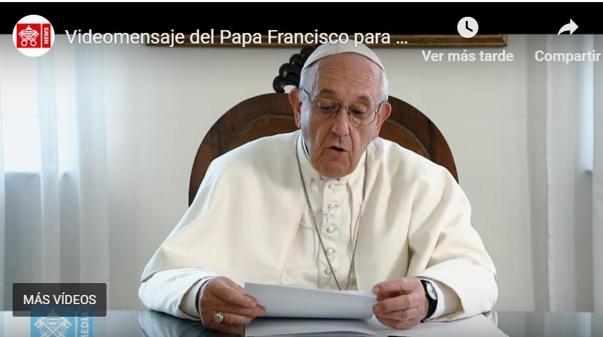 VIDEO DEL PAPA A LOS PEREGRINOS QUE VIAJAN A LOURDES EN LA III JORNADA MUNDIAL DE LOS POBRES
