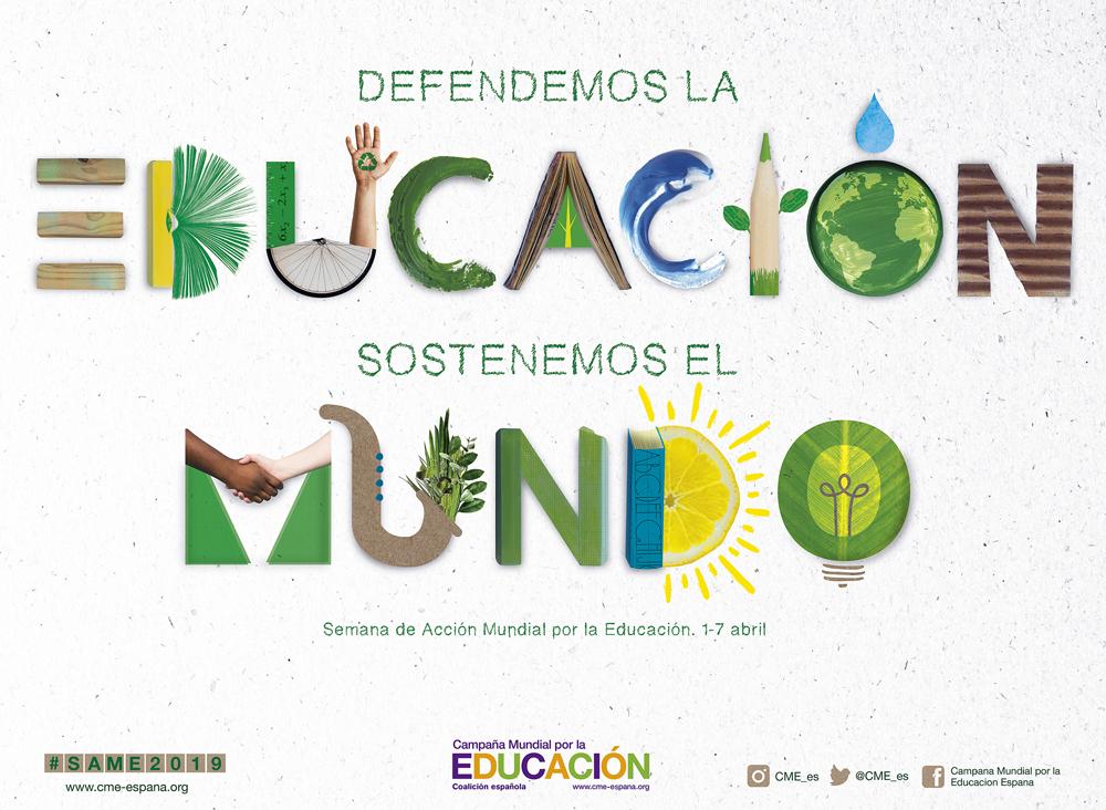 DEFENDEMOS LA EDUCACION SOSTENEMOS EL MUNDO