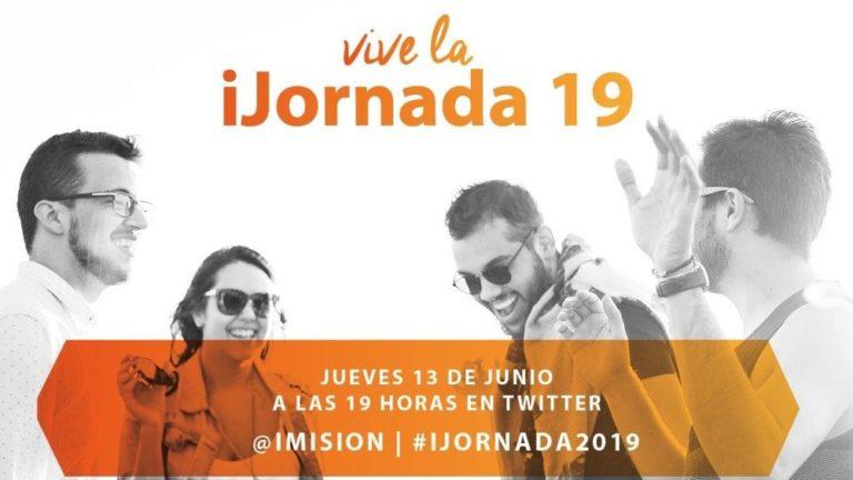 VIVE LA IJORNADA 19 FORMATIVA VIA TWITTER