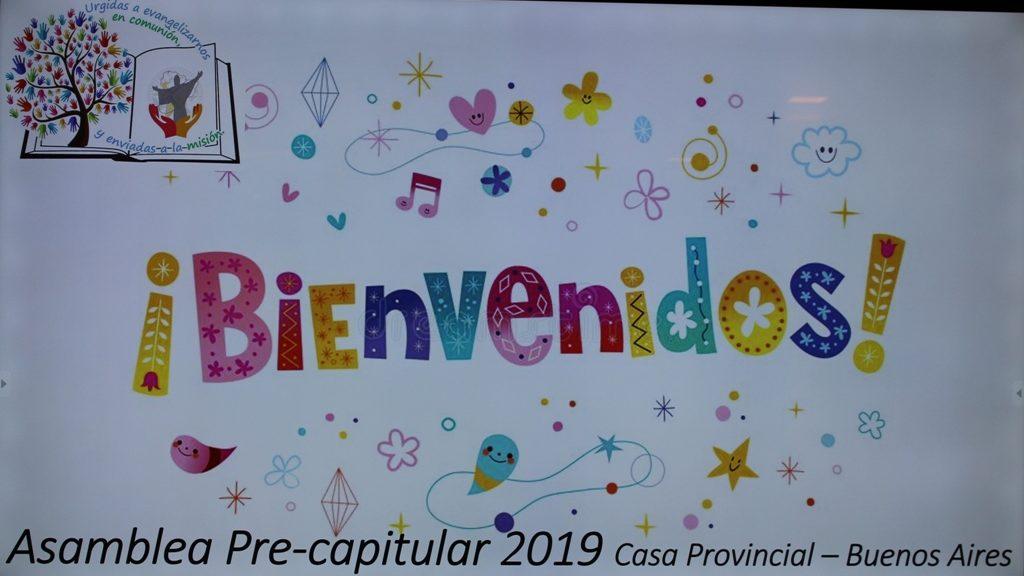 ASAMBLEA PRE-CAPITULAR 2019 EN LA PROVINCIA SANTA ROSA