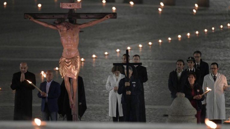 Vía Crucis en el Vaticano: dentro de la cárcel se encuentra mucha humanidad