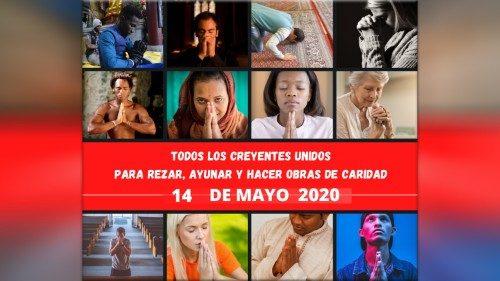 14 DE MAYO 2020: CREYENTES DE TODO EL MUNDO REZAN A DIOS POR EL FIN DE LA PANDEMIA