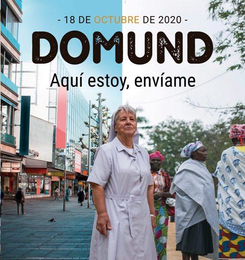 DOMUND 18 DE OCTUBRE DE 2020 –  AQUÍ ESTOY, ENVÍAME
