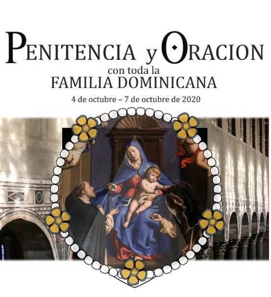 PENITENCIA Y ORACIÓN CON LA FAMILIA DOMINICANA