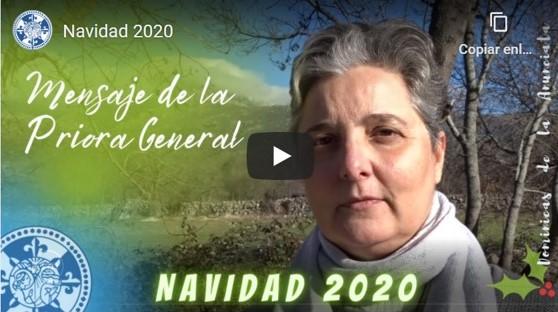 MENSAJE DE LA PRIORA GENERAL NAVIDAD 2020
