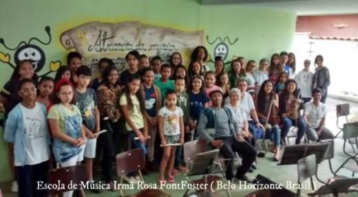 FELICITACIÓN DE NAVIDAD DE LA ESCUELA DE MÚSICA HNA ROSA FONT FUSTER